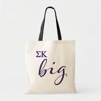 Bolsa Tote Roteiro grande do Kappa do Sigma