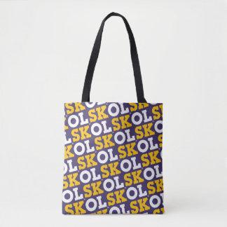 """Bolsa Tote Roteiro sacola do bloco de """"SKOL"""" -"""