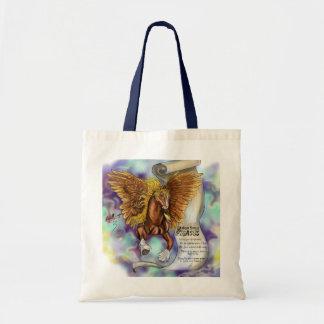 Bolsa Tote Sabedoria de um Pegasus