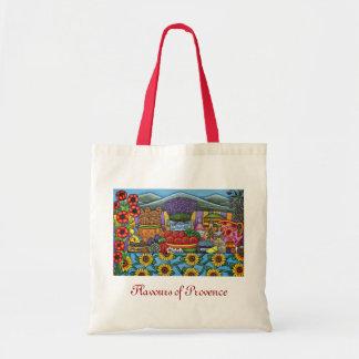 Bolsa Tote Sabores do saco de compras de Provence por Lisa