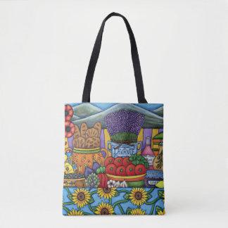 Bolsa Tote Sabores do saco de Provence por Lisa Lorenz