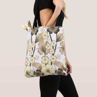 Bolsa Tote Saco à moda e florescido do design