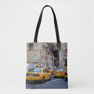 Bolsa Tote Saco amarelo do táxi