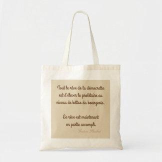 Bolsa Tote saco citação