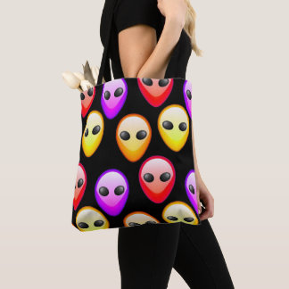 Bolsa Tote Saco colorido dos aliens