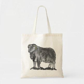 Bolsa Tote Saco da arte dos carneiros de Herdwick da ram do