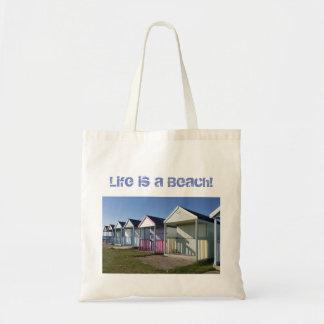 Bolsa Tote Saco da cabana da praia