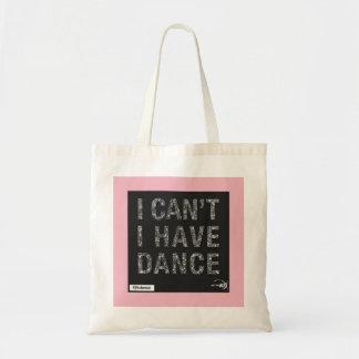Bolsa Tote saco da dança