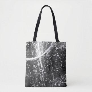 Bolsa Tote Saco da física de partícula do vintage