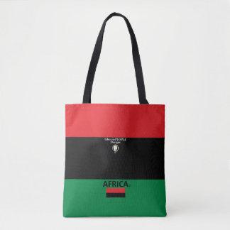 Bolsa Tote Saco da forma de África