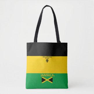 Bolsa Tote Saco da forma de Jamaica para ela