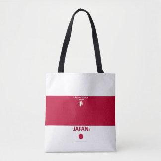 Bolsa Tote Saco da forma de Japão para ela