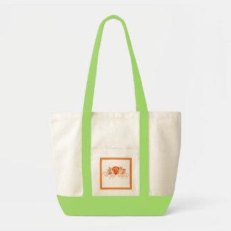 Bolsa Tote saco da fralda do bebê da aguarela do ouriço