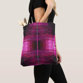Bolsa Tote Saco de água cor-de-rosa
