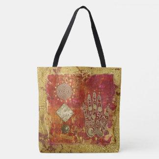 Bolsa Tote Saco de compras da arte e da alma