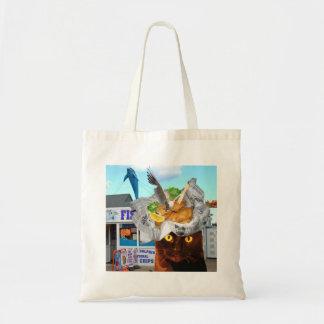 Bolsa Tote Saco de compras da ceia dos peixes