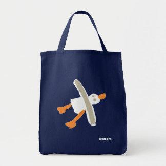 Bolsa Tote Saco de compras da gaivota do tintureiro de John