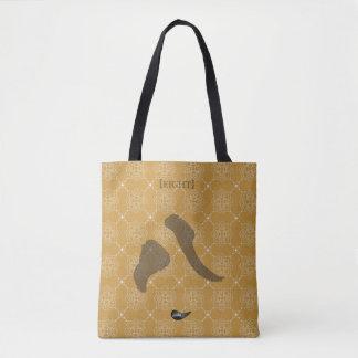 Bolsa Tote Saco de compras do número oito de Jitaku