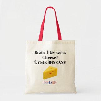 Bolsa Tote Saco de compras do orçamento da doença de Lyme