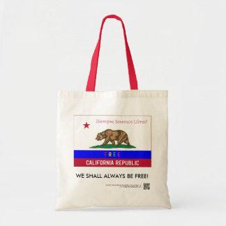 Bolsa Tote Saco de compras livre das canvas da república de