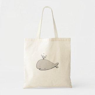 Bolsa Tote Saco de compras reusável da baleia