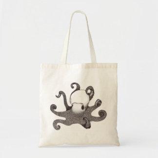 Bolsa Tote Saco de compras reusável do polvo