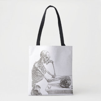 Bolsa Tote Saco de esqueleto melancólico