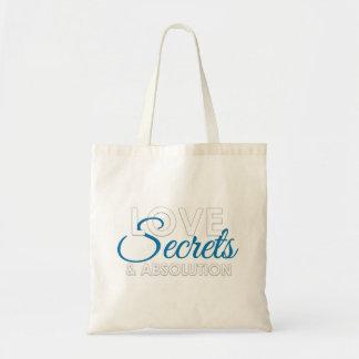 Bolsa Tote Saco de livro do amor, dos segredos, e da