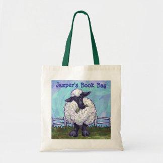 Bolsa Tote Saco de livro feito sob encomenda dos carneiros