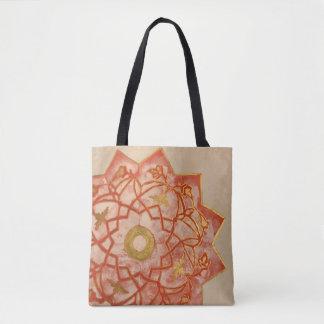 Bolsa Tote Saco de mão floral do teste padrão