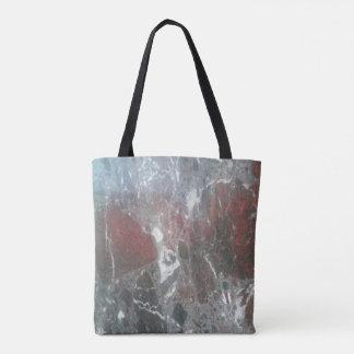 Bolsa Tote Saco de mármore do efeito
