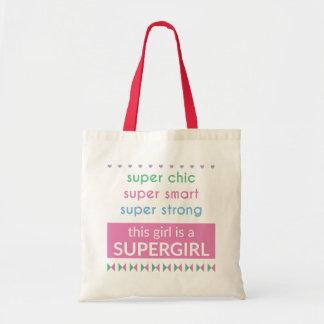Bolsa Tote Saco de Supergirl