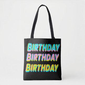 Bolsa Tote Saco do aniversário