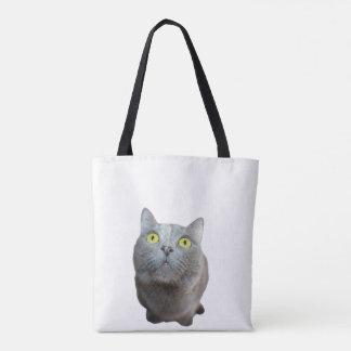 Bolsa Tote Saco do gato