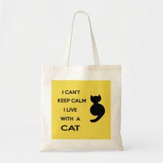Bolsa Tote saco do gato do amor