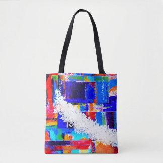 Bolsa Tote Saco do mercado do arroz do pop art