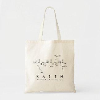 Bolsa Tote Saco do nome do peptide de Kasen