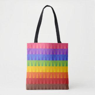 Bolsa Tote Saco do orgulho do arco-íris