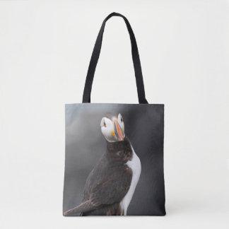 Bolsa Tote saco do papagaio-do-mar