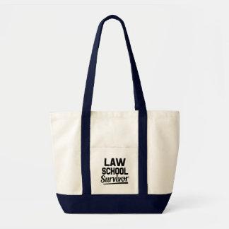 Bolsa Tote Saco engraçado do sobrevivente da escola de