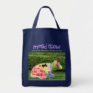 Bolsa Tote saco engraçado do vegan