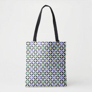 Bolsa Tote Saco inspirado por Alhabra Tilework
