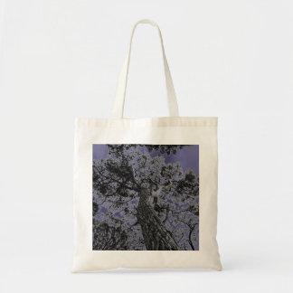 Bolsa Tote Saco legal do impressão da arte da árvore