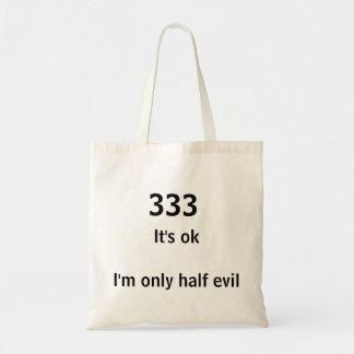 Bolsa Tote saco mau engraçado