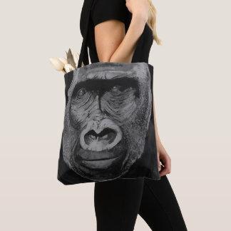 Bolsa Tote Saco muito legal do gorila