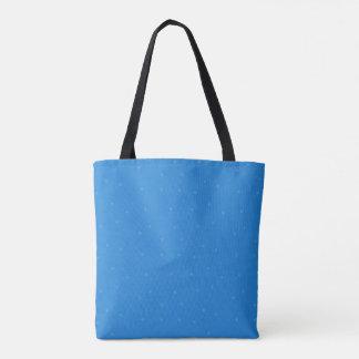 Bolsa Tote Saco nevado azul