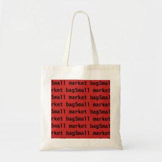Bolsa Tote Saco pequeno vermelho