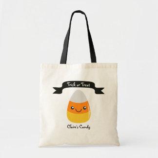 Bolsa Tote Saco personalizado de Emoji o Dia das Bruxas do