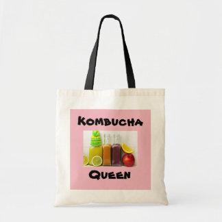 Bolsa Tote Saco personalizado rainha da foto de Kombucha
