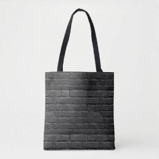 Bolsa Tote Saco preto e branco do tijolo